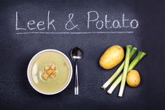 Soup of the day Stock Photos