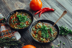 Soup for dinner Royalty Free Stock Photo