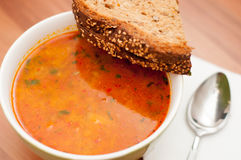 Soup dish Stock Photography