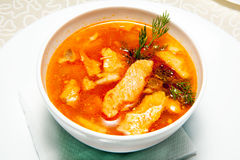 Soup, entree Stock Photos