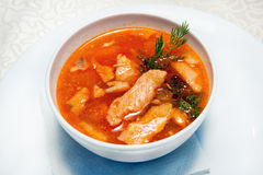 Soup, entree Stock Photos