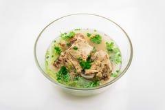 soup för porkstöd Arkivfoton