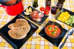 Soup Gazpacho Royalty Free Stock Image