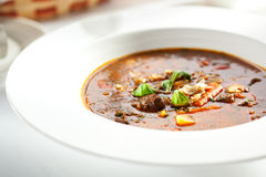 Soup Goulash Royalty Free Stock Photography