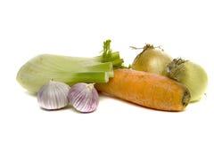 Soup greens Stock Photos
