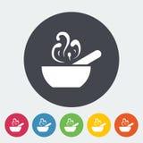 Soup icon Royalty Free Stock Photos