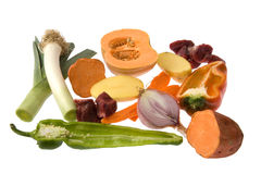 Soup ingredients Stock Images