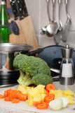 Soup ingredients royalty free stock photography