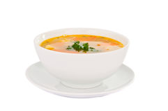 Soup Isolated Stock Image