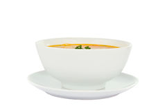Soup isolated Stock Photo