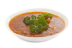 Soup isolated Royalty Free Stock Photography