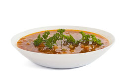 Soup isolated Royalty Free Stock Images
