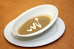SOUP. Italia on the restaurant Viet Nam royalty free stock images