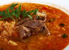 Soup Kharcho Stock Image