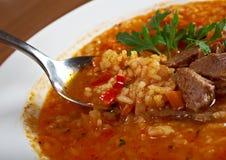 Soup Kharcho Royalty Free Stock Image