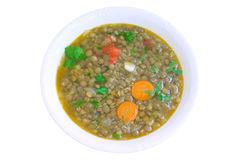 Soup with lentil Royalty Free Stock Photography