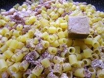 Soup with macaroni Stock Image
