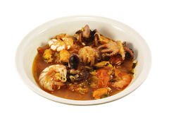 Soup made from shellfish Royalty Free Stock Image