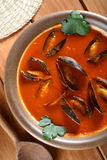 Soup made from shellfish Royalty Free Stock Photo