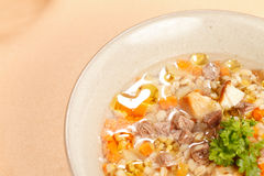 Soup with meat Royalty Free Stock Photography