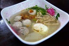 Soup meat ball Stock Photos