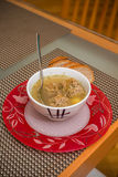 Soup with meatballs Royalty Free Stock Images
