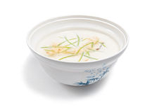 Soup with milk Royalty Free Stock Image