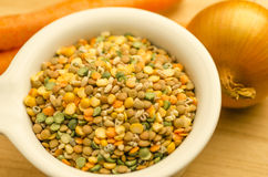 Soup Mix Royalty Free Stock Photography