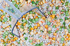 Soup Mix with Scoop Royalty Free Stock Photography