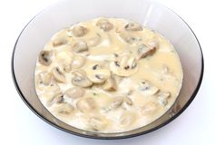 Soup of mushrooms Royalty Free Stock Photos