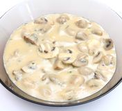 Soup of mushrooms Stock Photography