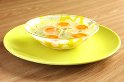 Soup with noodles Royalty Free Stock Photos
