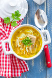 Soup with pasta Royalty Free Stock Images