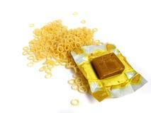 Soup pasta with flavor stock photos