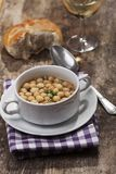 Soup pearls Stock Photography