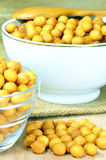 Soup pearls Stock Images