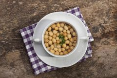 Soup pearls Royalty Free Stock Photography