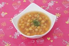 Soup of peas Stock Photo