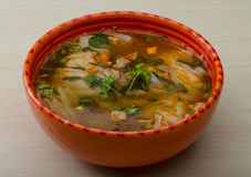 Soup Pho Royalty Free Stock Photography