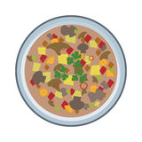 Soup  plate Stock Photography