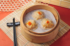 Soup pork dumpling Royalty Free Stock Photography