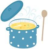 Soup pot Royalty Free Stock Photos