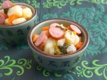 Soup of potatoes Stock Image