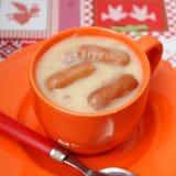 Soup of potatoes Royalty Free Stock Photo