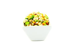 Soup Pulses in a Dish Royalty Free Stock Photo