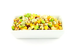 Soup Pulses in a Dish Stock Images