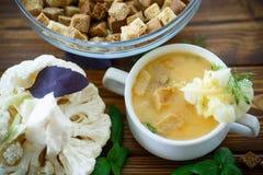Free Soup Pureed Cauliflower Royalty Free Stock Photo - 60713205