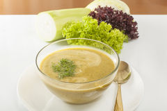 Soup pureed vegetables Stock Photography