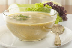 Soup pureed vegetables Stock Images