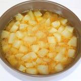 Soup of radish Royalty Free Stock Photo